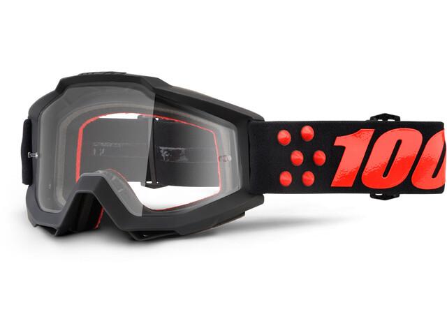 100% Accuri Anti Fog Clear Goggles gernica